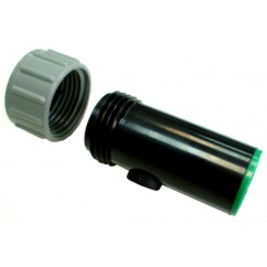 Tapón RETS a tubo de PE 16 mm