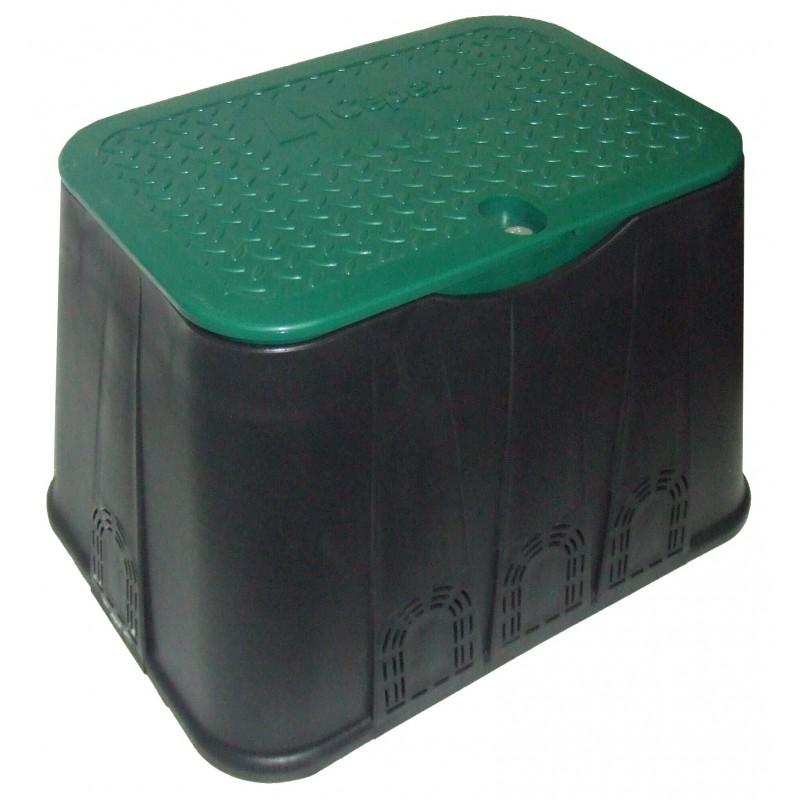 "Arqueta plástico rectangular stándar Ø 12"""