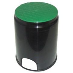 Arqueta plástico circular con tapa Ø 152mm
