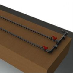 Kit de riego exudante para mesa pequeña