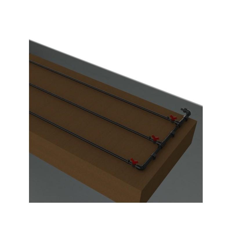 Kit de riego exudante para mesa mediana