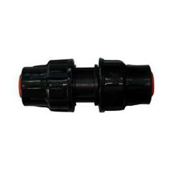 Manguito de riego para tubo de PE 16 mm