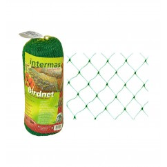 Malla antipájaros 4X12m verde