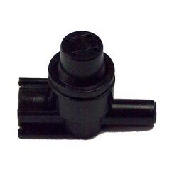 Válvula antigoteo cónica M-H Ø6mm. 2,5Atm.