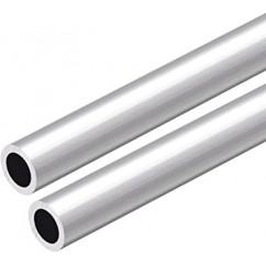 Tubo de aluminio Ø 12x10mm. €/m.