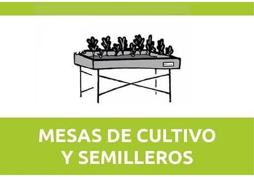 Mesas de Cultivo y Semilleros